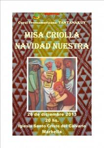 Cartel Marbella Navidad